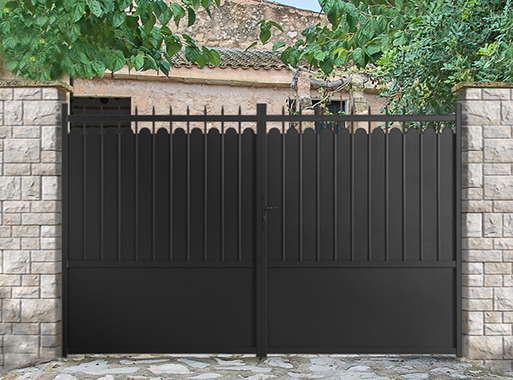 portail portillon cl ture aluminium adana roy portail aluminium pinterest portail. Black Bedroom Furniture Sets. Home Design Ideas