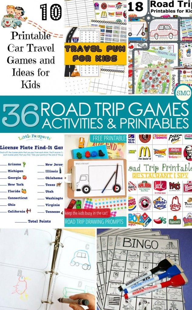 30 Awesome Road Trip Games for Kids to Save Your Sanity