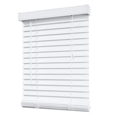 better homes and gardens 2 faux wood windows blinds oak canopy white inch blind cheap
