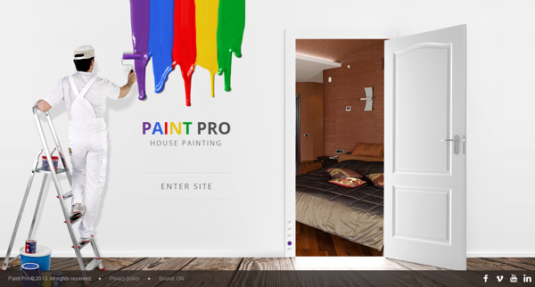 Paint Pro House Painter HTML5 Template 300111619 by Dynamic ...