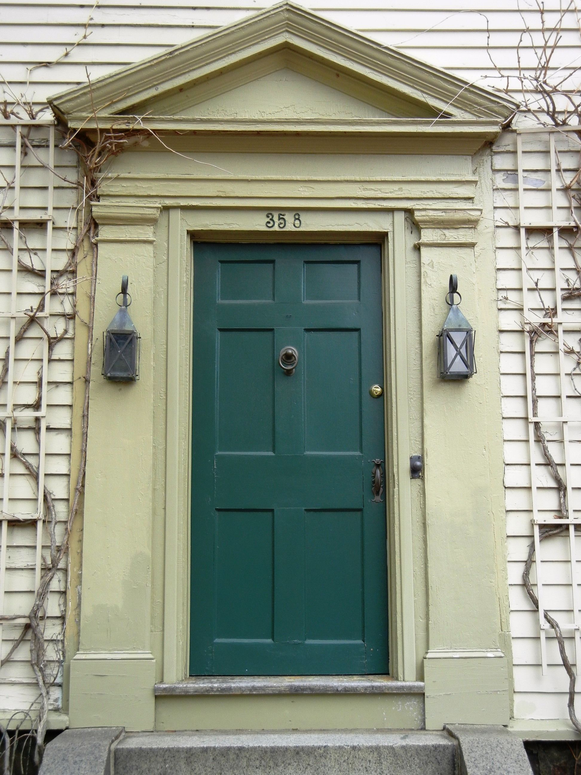 Love this color for a red brick house exteriors teal - Front door colors for red brick house ...