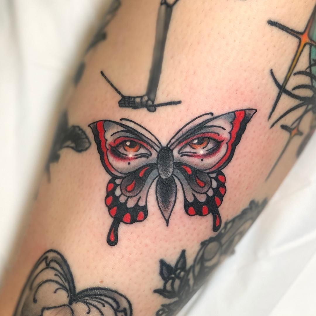 Butterfly Eyes Tattoo Eye Tattoo Butterfly Eyes Tattoos And Piercings
