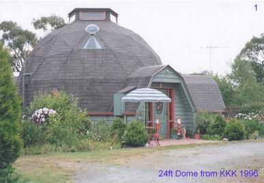 24ft Geodesic Dome Home Photo