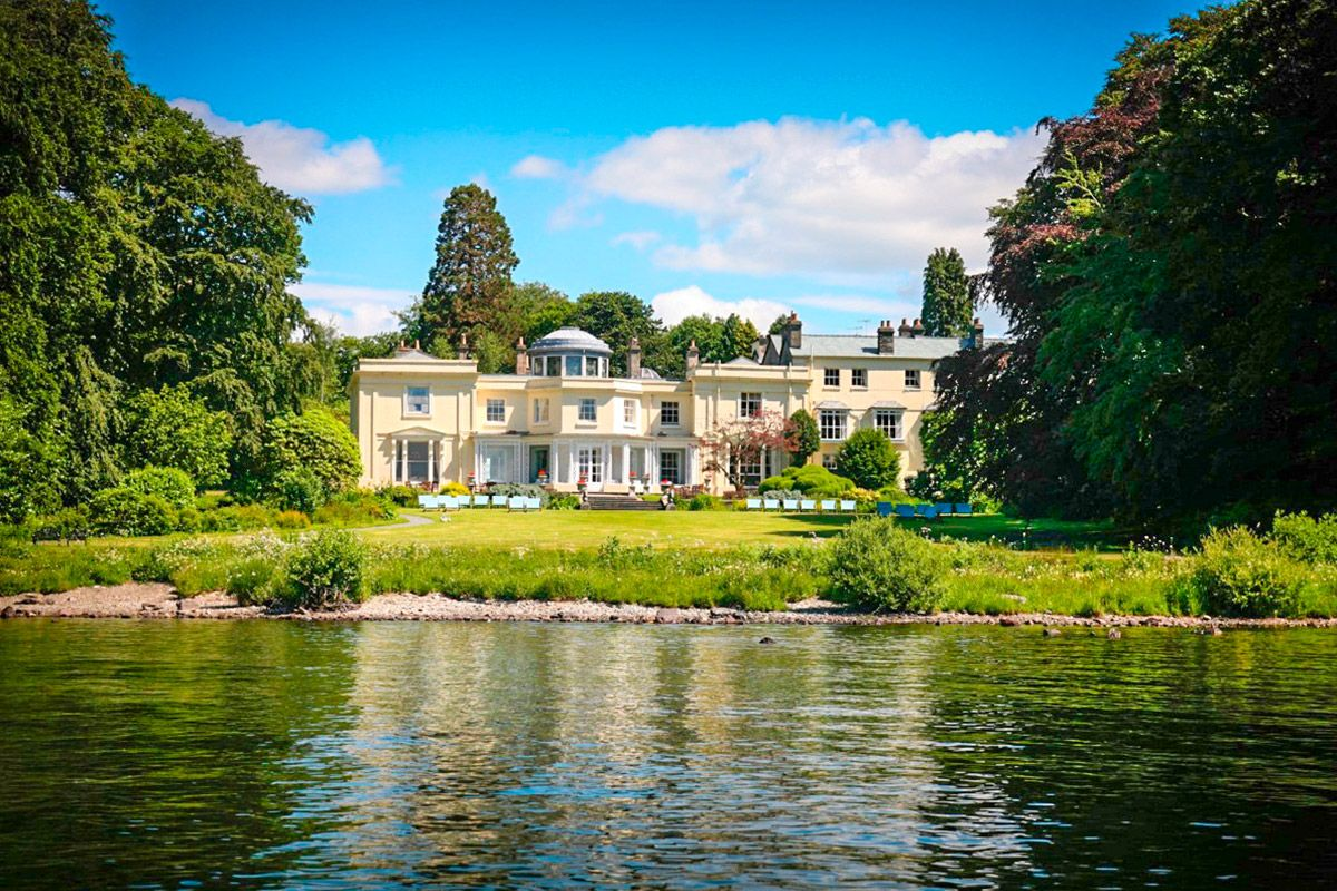 Two Night Lake District Break For Two At Storrs Hall On The Lake Windermere Lake District Hotels Lake District Lake Windermere