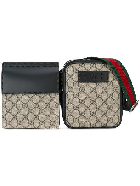 3f49241fcf8 GUCCI Double Pouch Bum Bag.  gucci  bag