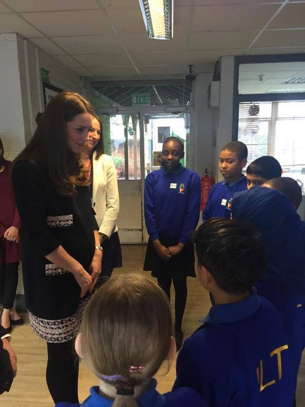 Duchess at Barlby Primary School 15 Jan