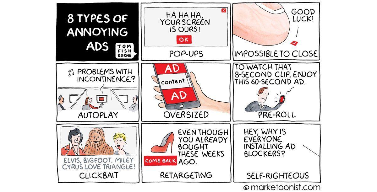 annoying ads