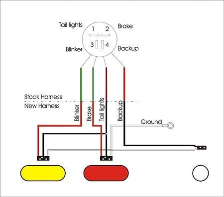 Led Trailer Light Wiring Diagram from i.pinimg.com