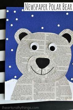 Das beste Eisbären-Zeitungshandwerk im Internet #bears