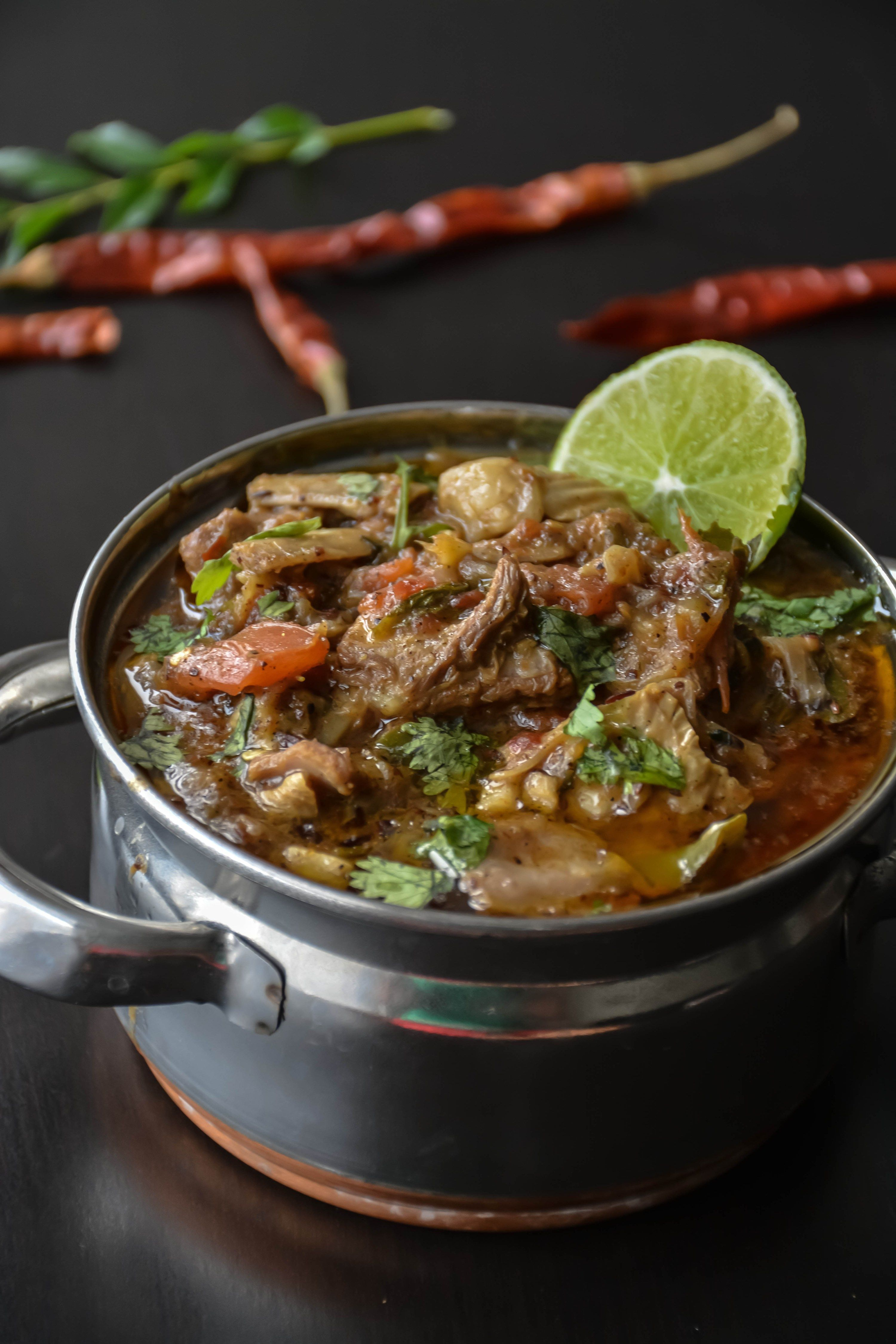 Kadai ghost is one of the famous dish from mughlai this dish is foods forumfinder Gallery