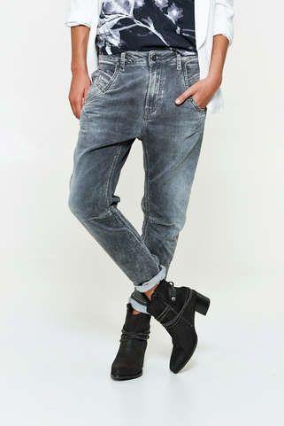 a1910e685ef7c jeans diesel fayza ne jog jeans gris delave femme jogging jeans femme