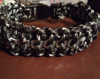 Paracord Keychain Cobra With Hex Nut Paracord Bracelets
