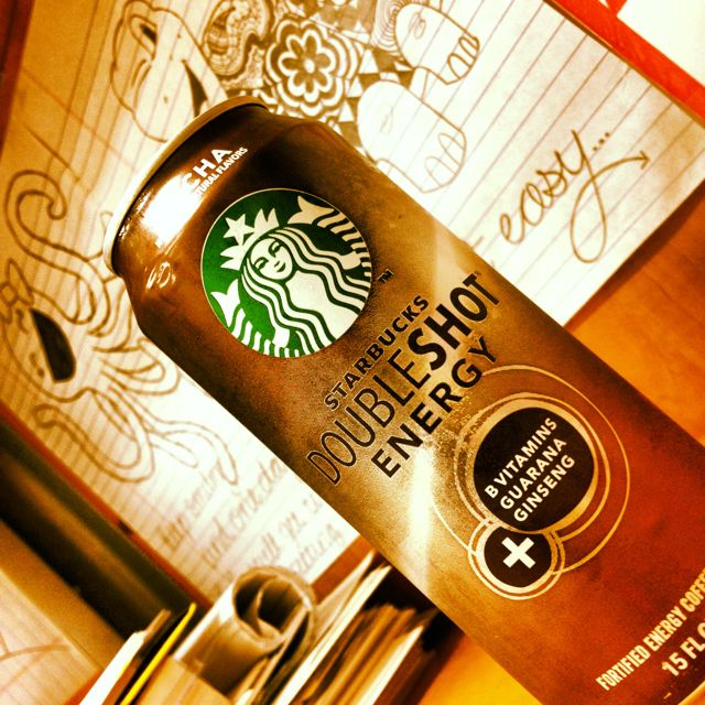 Starbucks Double Shot Energy! Perfect for those extra long days at school ;D  @Influenster @Rick- Cawthard New York Color