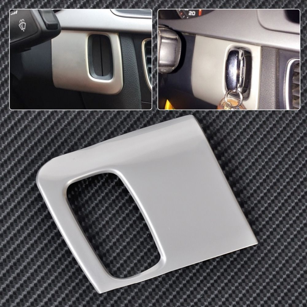 New Stainless Steel Dash Ignition Keyhole Molding Cover