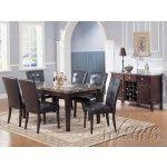 $1099.00  Acme Furniture - Danville 9 Piece Marble Top Table Set - 7058-9set