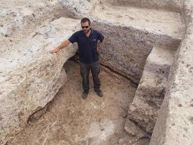 1,600-year-old pottery kiln exposed in the Western Galilee