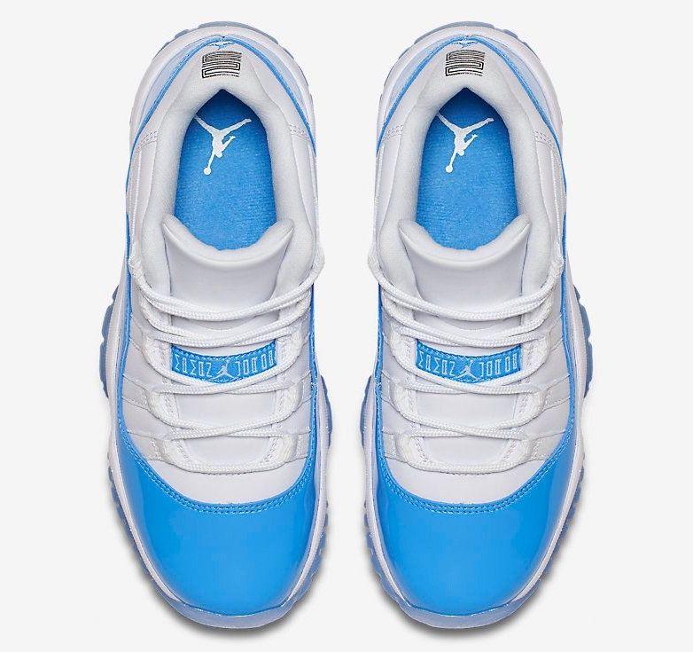 air jordan 11 low university blue (6)