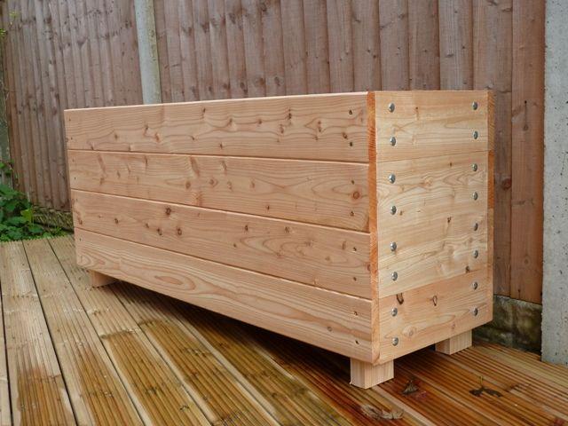 Wooden Troughs Garden Trough Garden Planter Extra Large Planter
