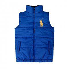 Polo Ralph Lauren Mens Ascender Down Vest Blue