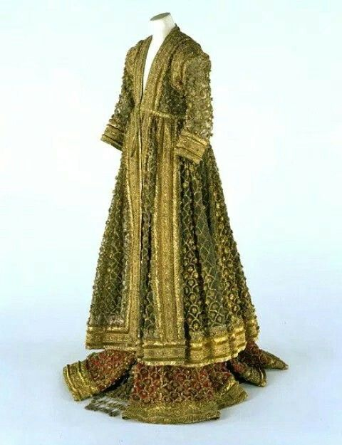 Ladies Antique Victorian Vintage Indian Medieval Dress 1900's.