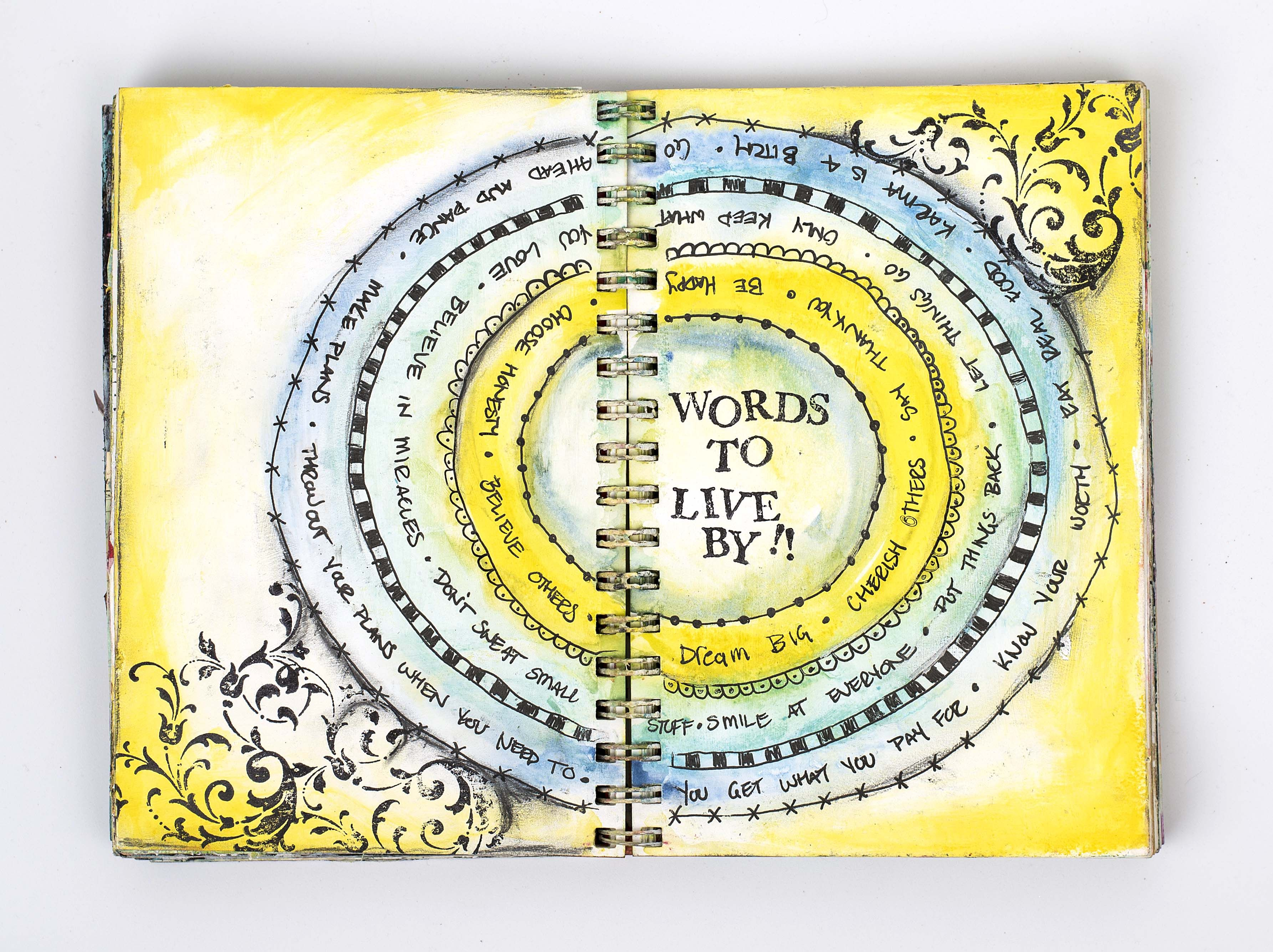 Art Journaling With Christy Riopel Rememberingchristy