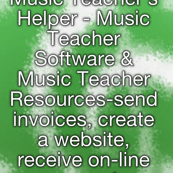 Music Teacheru0027s Helper - Music Teacher Software \ Music Teacher - send invoices
