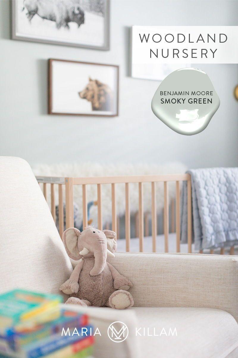 Kelly S Sweet Woodland Nursery Blue Turquoise Smoky Green Woodland Nursery Unisex Nursery Nursery