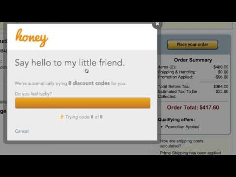 Honey Automatically Searches For And Applies Coupon Codes