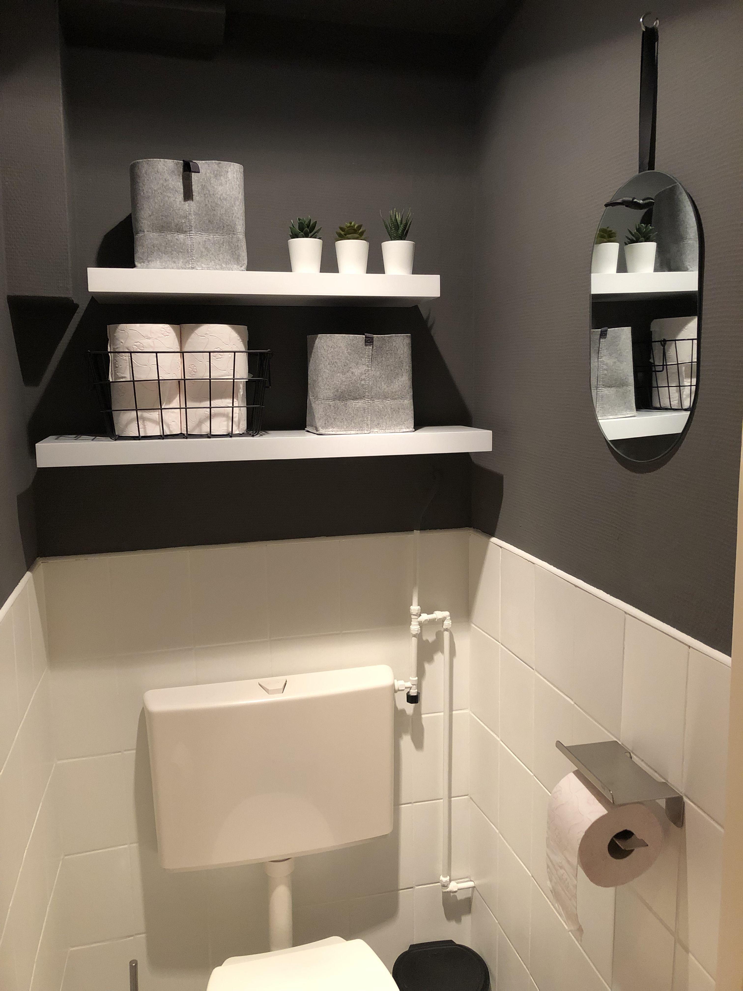 Ons Gepimpte Toilet Met Tegelverf Toilet Ontwerp Toiletideeen Toilet Decoratie