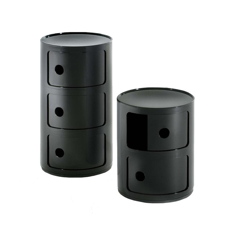 Meuble De Rangement Componibili 3 Tiroirs Kartell Silvera Eshop En 2020 Kartell Componibili Meuble Rangement Rangement