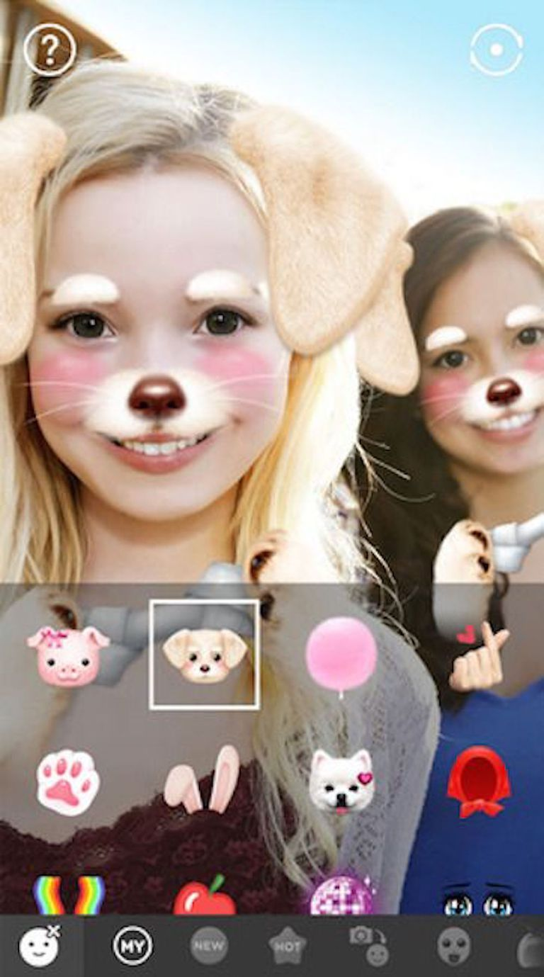 ef04a40059d6 6 Fun Selfie Apps With Snapchat-Like Filters | ecae | Beauty camera ...