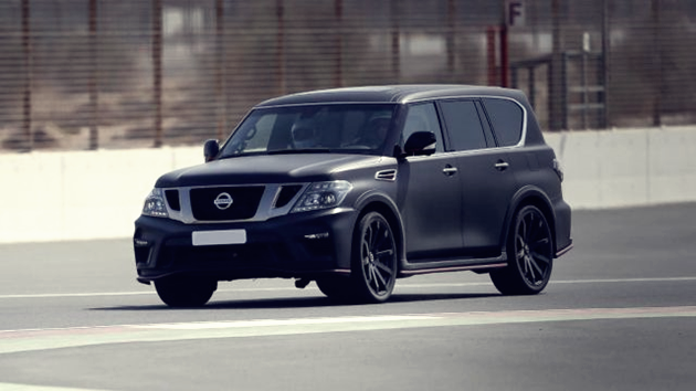 2020 Nissan Patrol Redesign | Auto Features