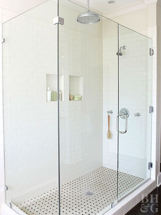 Popular Frameless showers showcase tile work and add spaciousness to a bath They can bring a Modern - Luxury shower stall sizes Top Search