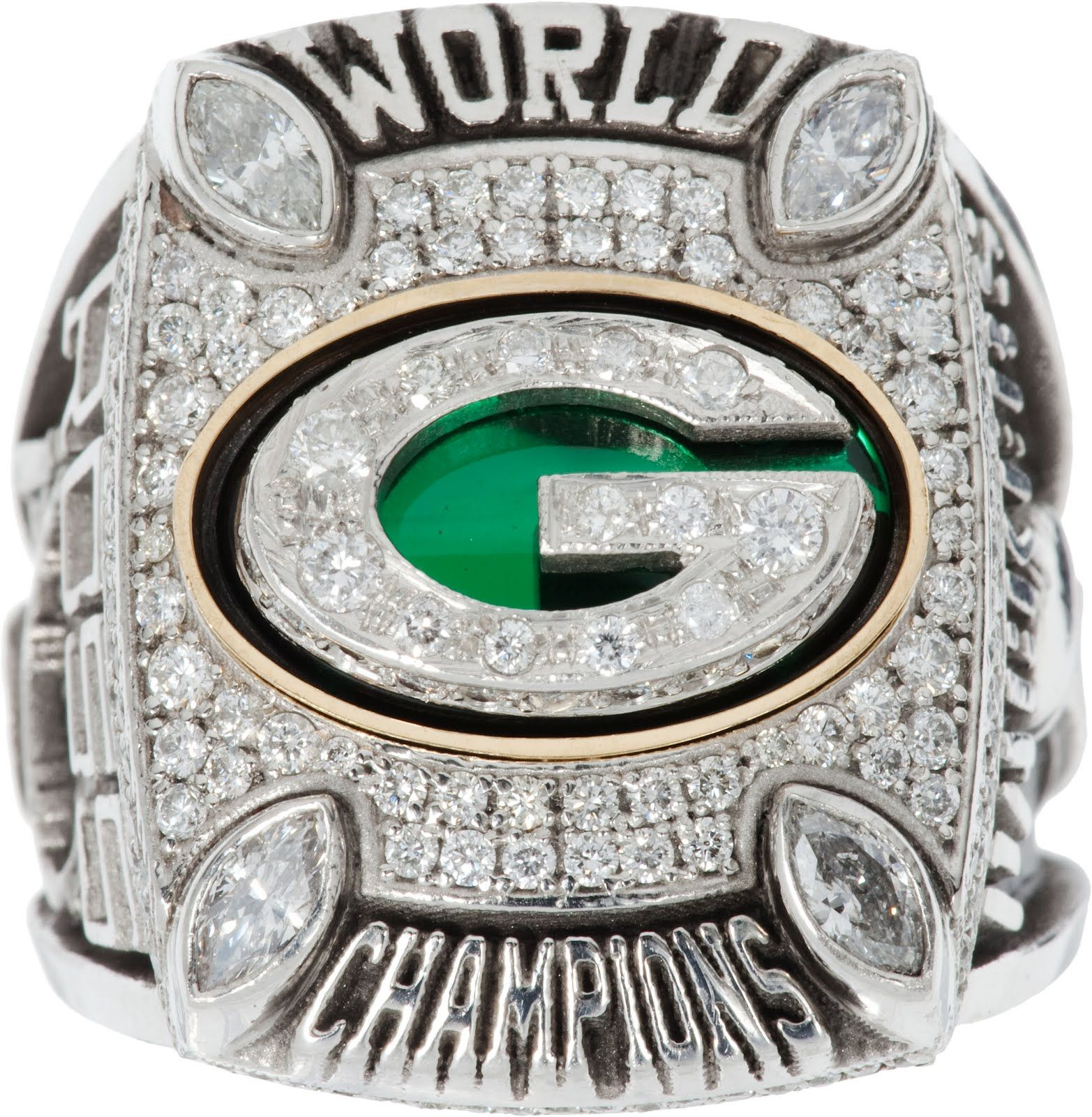 The Green Bay Packers 2011 Super Bowl Xlv World Championship Ring Packers Super Bowl Super Bowl Rings Green Bay Packers Fans