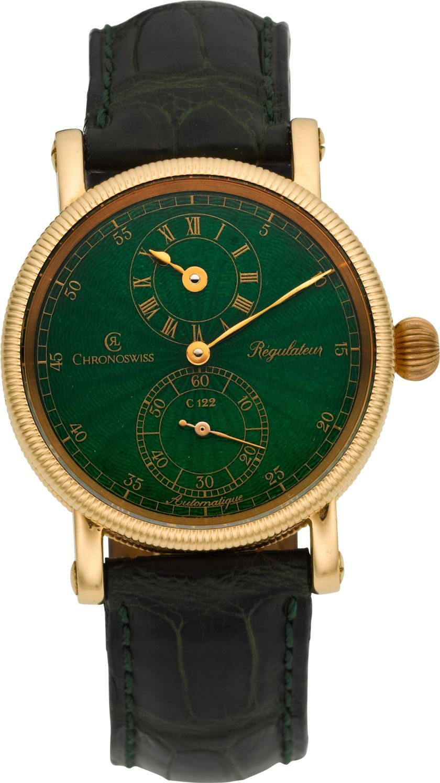 Timepieces:Wristwatch, Chronoswiss Limited Edition Rose Gold Régulateur No. 2/25. ... Image #1