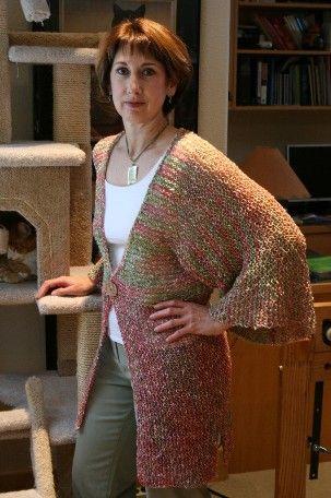 Easy Knit Kimono Pattern Free Knitting And Crochet Patterns Knit