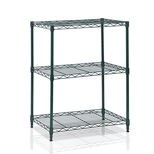 FURINNO WS15002AG Wayar 3 Tier Heavy Duty Wire Shelving, ... http ...