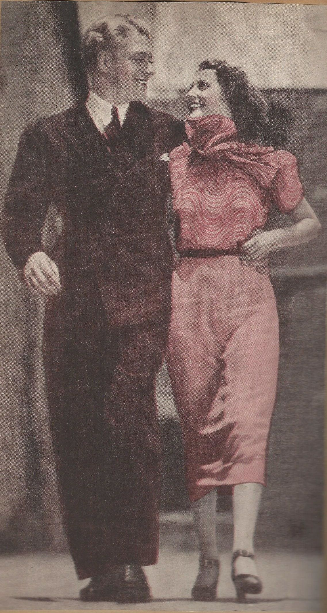 """A vintage, magazine color version of this photo that is on the cover of Sharon Rich's 20th Anniversary edition of Sweethearts. Oh how happy they look here. Nelson said: """"We were so young and bright in those early days. Everything was new, falling in love for really the first time in our lives."""" - ESCANO COLLECTION"""