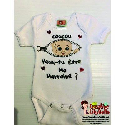 Pin On Cache Couche Marraine Et Parrain Bebe