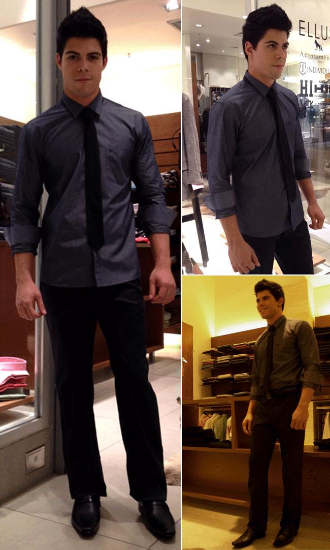 Na hora de escolher calça social, para ocasiões que você usará terno.