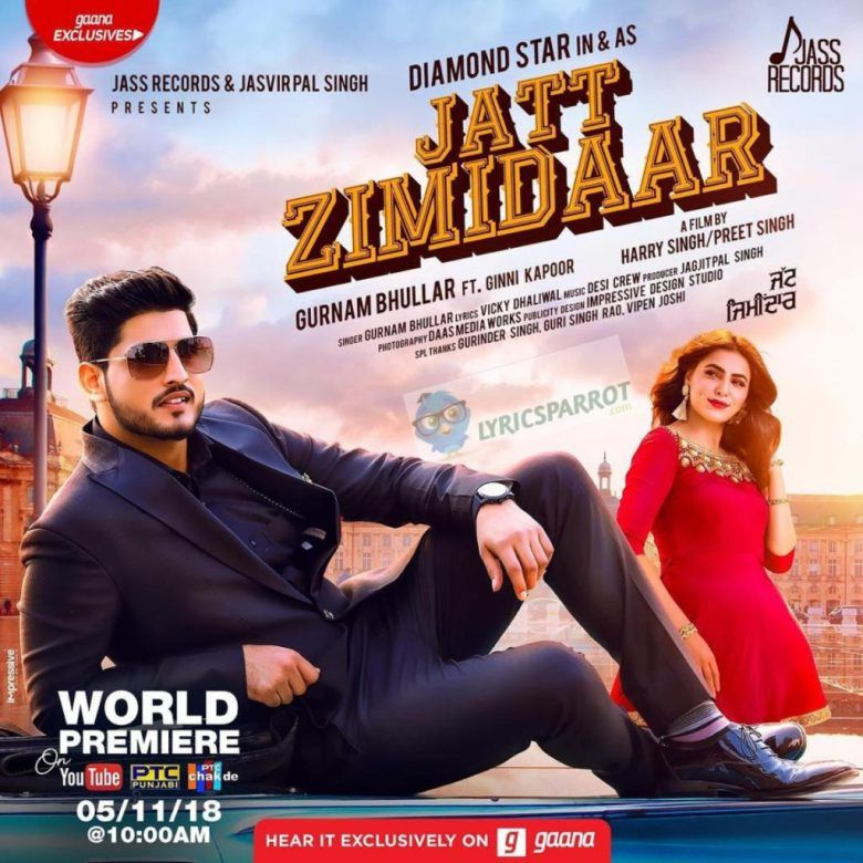 Jatt Zameendaar Song | new songs in 2019 | Mp3 song, Audio