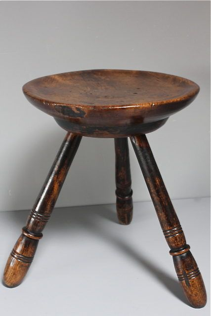 19th Century Welsh 3-legged Stool - Antiques Atlas - 19th Century Welsh 3-legged Stool - Antiques Atlas Benches