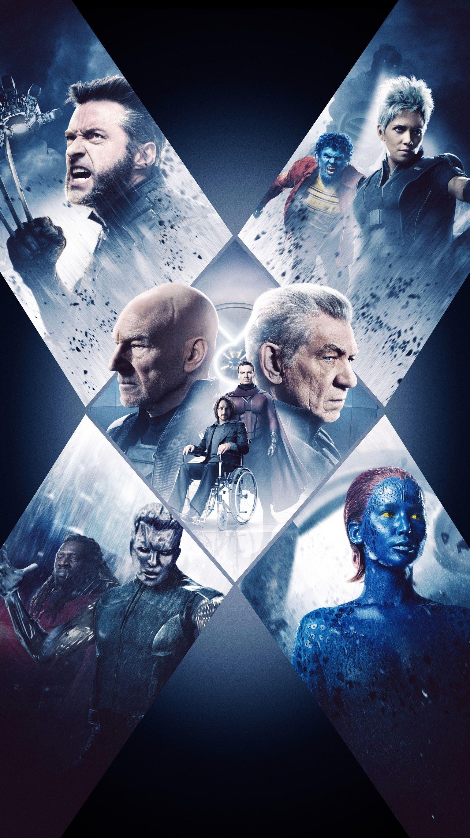 X Men Days Of Future Past 2014 Phone Wallpaper X Men