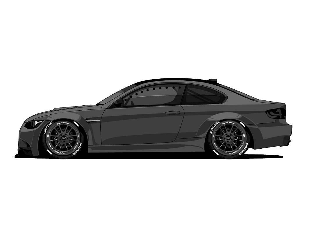 An E92 Drift Car Without A Libertywalk Bodykit What Is This