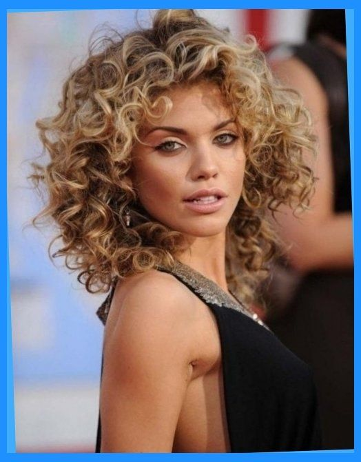 pretty permed hairstyles