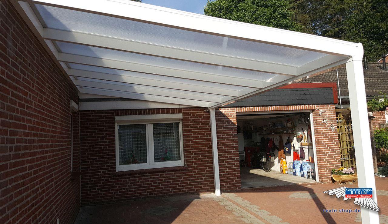 Ein AluTerrassendach der Marke REXOpremium 5m x 3,50m mit