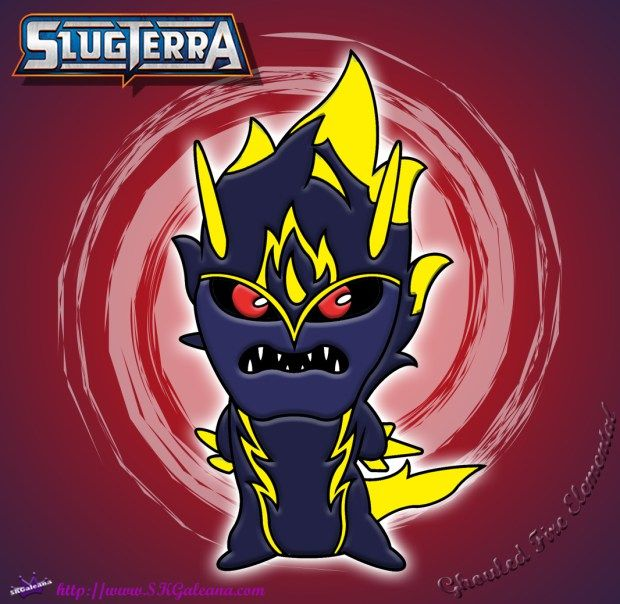 Ghoul Fire Elemental Coloring Page From Slugterra Return Of The Elementals Ghoul Minecraft Pixel Art Coloring Pages