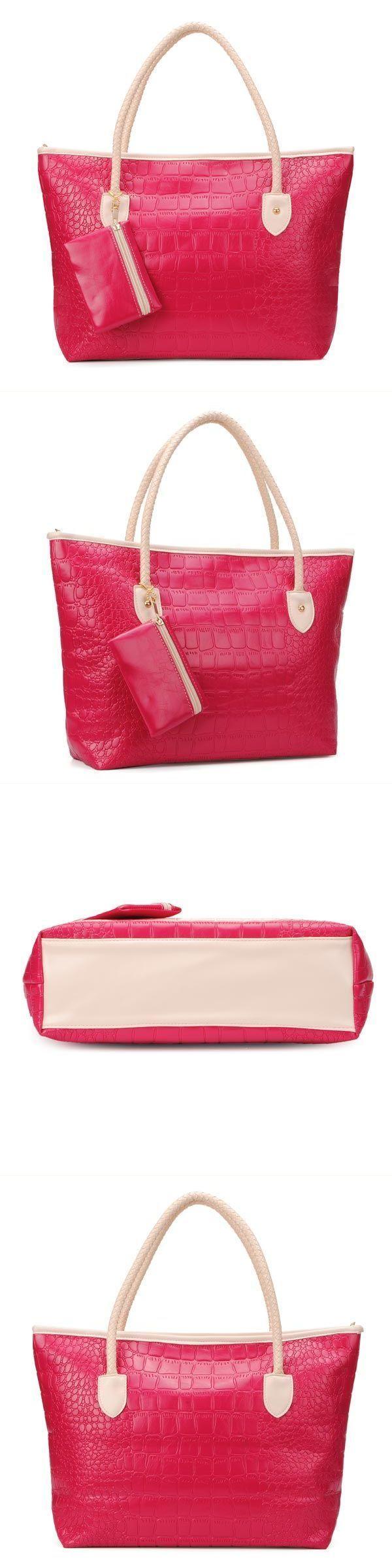 Miss M Handbags Vintage Women Leather Alligator Grain Handbag Shoulder Bag 7 Star 80s And Shoes Hanger