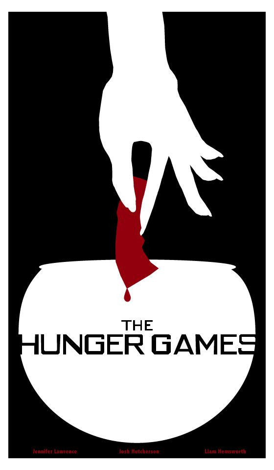 The Hunger Games Minimal Movie Poster