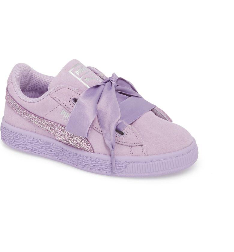 watch da403 2d765 Free shipping and returns on PUMA Basket Heart Glitz Sneaker ...